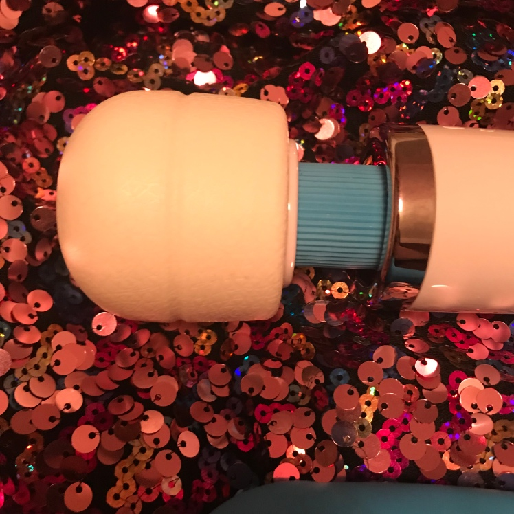 Closer view of MyMagicWand head